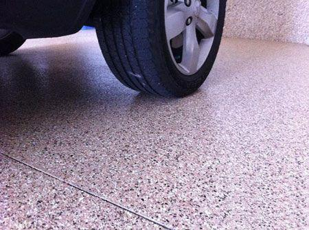 مدل کفپوش های زیبا و شیک پارکینگ خانه