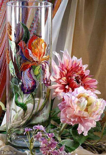 تصاویری بی نظیر از ظروف هنری ویترای