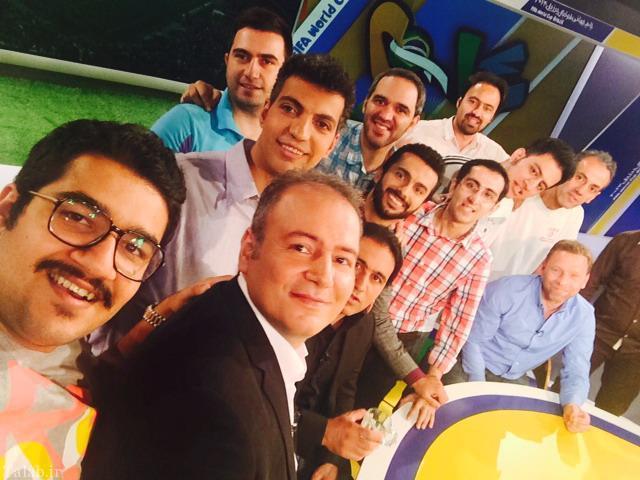عکس هایی از عادل فردوسی پور و تیمش