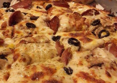 طرز درست کردن پیتزا رست بیف