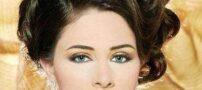 مدل های جدید و جذاب آرایش و شینیون مو عروس