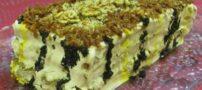 طرز درست کردن کیک کشک و بادمجان
