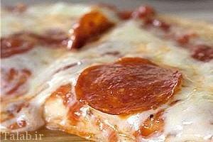 طرز تهیه پیتزا تابه ای
