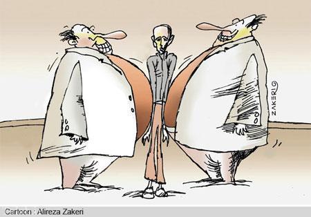 کاریکاتورهای اجتماعی خط فقر