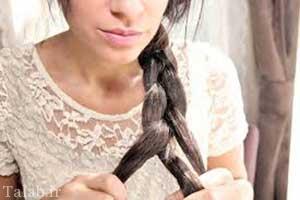 آموزش تصویری 4 مدل بافت مو