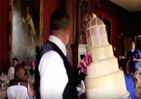 جان به لب شدن عروس توسط داماد شیطون (عکس)
