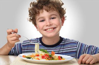 تغذیه ی سالم برای دانش آموزان
