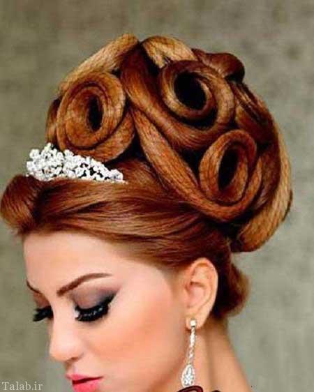 زیباترین مدل های موی عروس