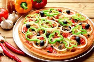 طرز تهیه پیتزا با خمیر بربری
