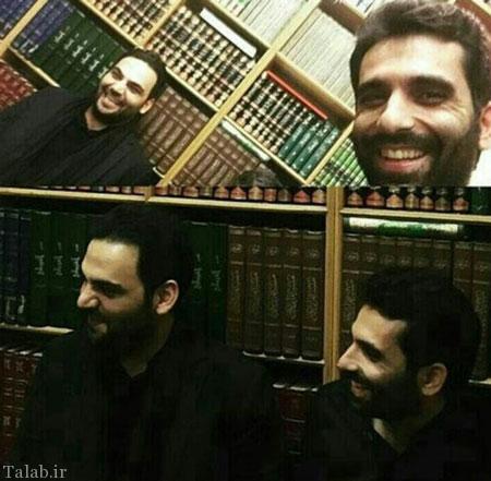 احسان علیخانی در شب عاشورا (عکس)