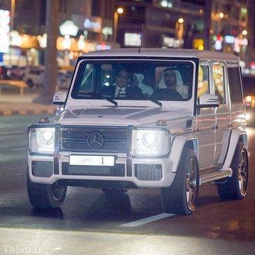 اتومبیل شخصی حاکم دبی (عکس)