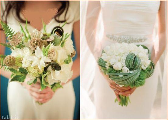 مدل های زیبای دسته گل عروس