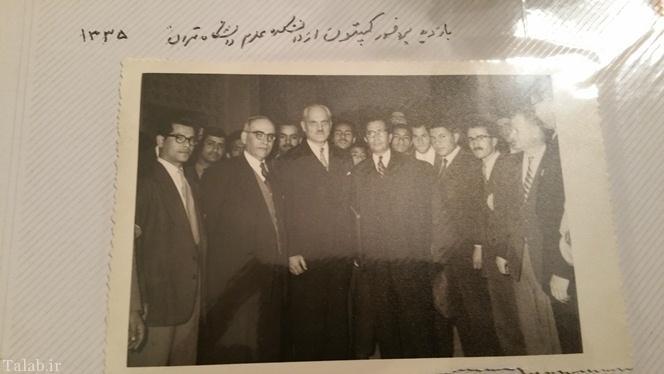 رییس نخستین رآکتور اتمی جهان در تهران 60 سال پیش