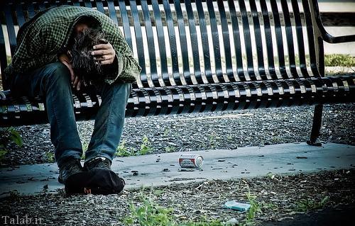 عکس های غمناک از تنهایی و بی کسی