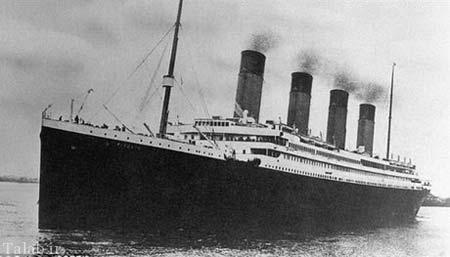 بیسکویت 45 میلیونی کشتی مشهور تایتانیک + عکس