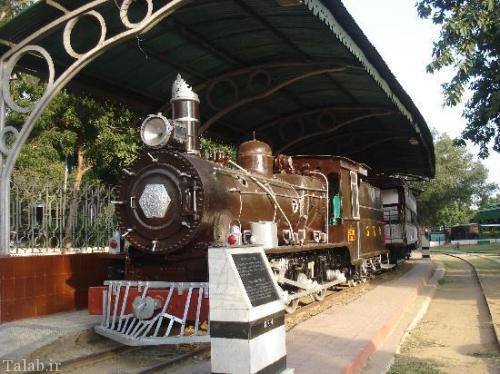 عکس هایی از موزه قطار های قدیمی در هند