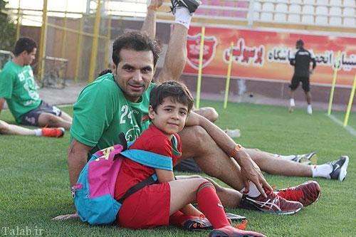حال و روز پسر هادی نورزی بعد از درگذشت پدر + عکس
