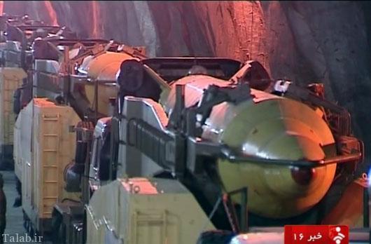 عکس هایی از پایگاه موشکی سپاه در عمق 500 متری زمین