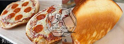 طرز درست کردن پیتزا تابه ای بدون نیاز به فر