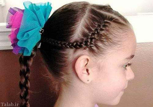 مدل های جدید بافت موی دختر بچه (کودکان)