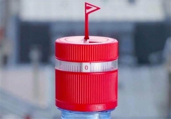 بطری هوشمند مجهز به اعلام ساعت نوشیدن آب