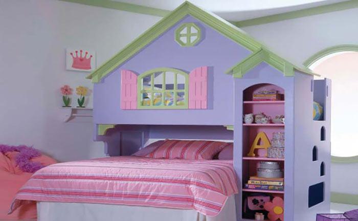رویایی ترین دکوراسیون اتاق برای کودکان