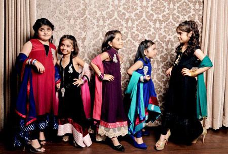 مدل لباس زیبا و جذاب هندی دخترانه