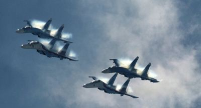 عملیات هوایی ارتش روسیه علیه داعش + عکس