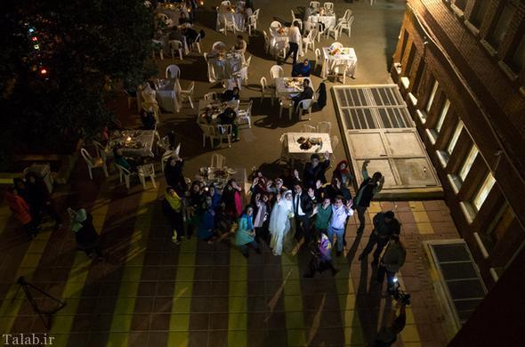 ازدواج این زن و شوهر در میان کارتن خواب ها+ عکس عروسی