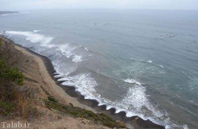 تصاویر جالب از پدیده ای شگفت انگیز در ساحل انگلستان