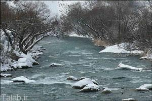 رودخانه زیبای کرج 70 سال پیش (عکس)