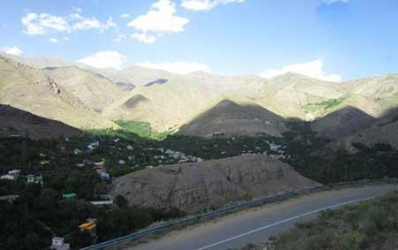 آشنایی با روستای زیبا نزدیک به تهران به نام برگ جهان