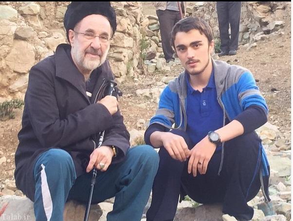 تبریک تولد متفاوت سید احمد خمینی به محمد خاتمی