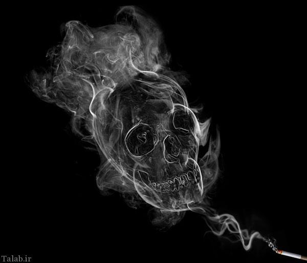مضرات سیگار برای قلب و ریه