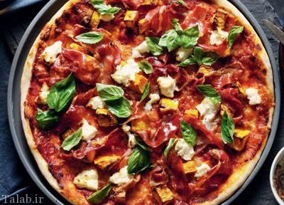 طرز تهیه پیتزا کدو حلوایی متفاوت