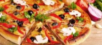 طرز تهیه پیتزا مخصوص خوشمزه و مخلوط