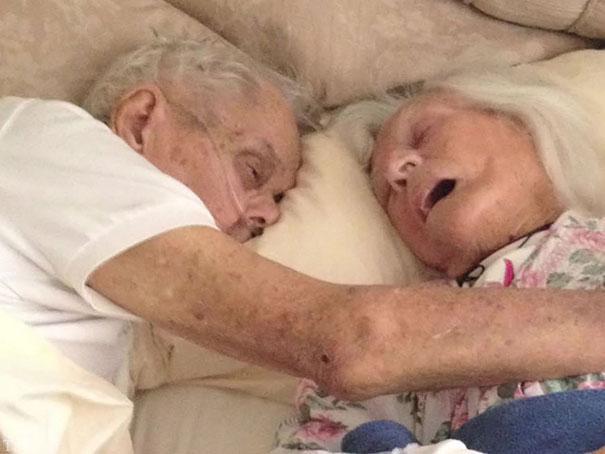مرگ همزمان و احساسی یک زوج عاشق (عکس)