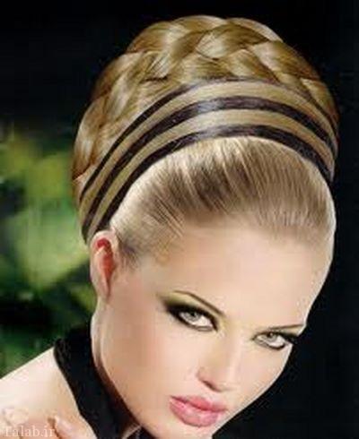 مدل موهای شیک و جذاب پاییزی عروس