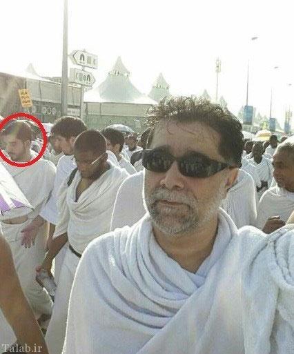 عکسی از نخبه قرآنی چند دقیقه قبل از فاجعه منا