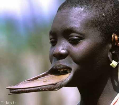 زشت ترین زنان دنیا در این قبیله زندگی میکنند !