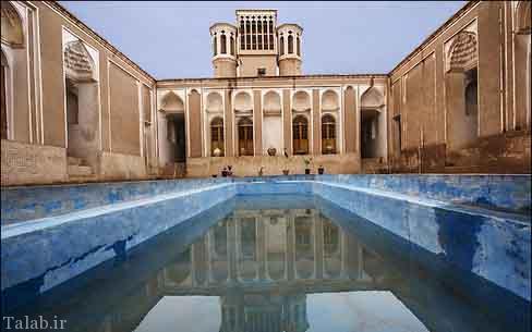 تصاویری از خانه تاریخی مستوفی در بشرویه