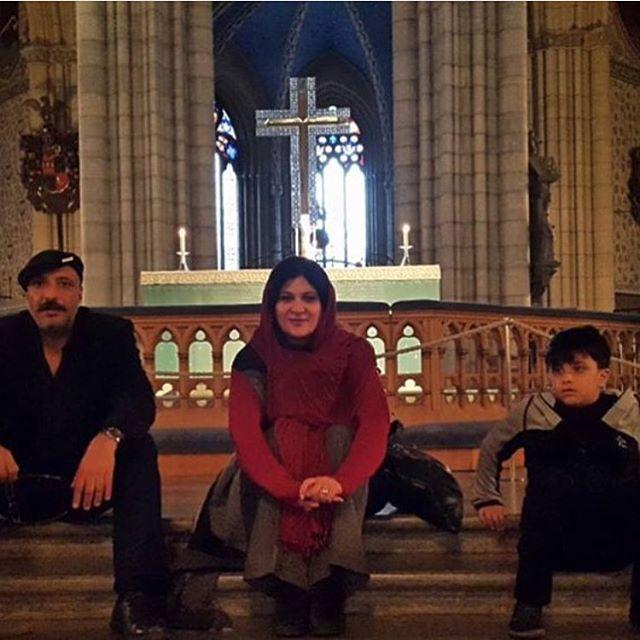 ریما رامین فر و امیر جعفری در سوئد (عکس)