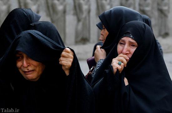 اشک های دردناک ظریف برای قربانی منا + تصاویر