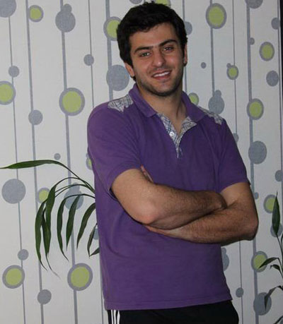 تصاویری از جدیدترین ژست های علی ضیا