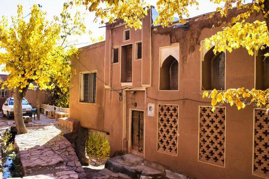 ابیانه روستای شگفت انگیز و رویایی + تصاویر