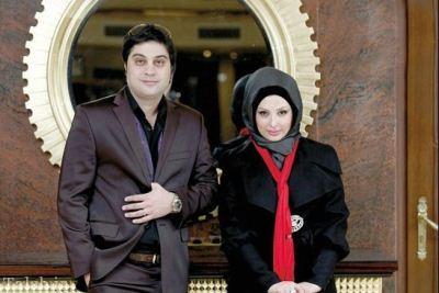 نذری درست کردن نیوشا ضیغمی و همسرش (عکس)