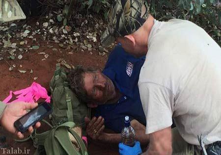 مردی که برای زنده ماندن مورچه خورد (+عکس)
