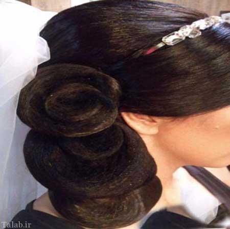 مدل شینیون های مجلسی محفلی 2015
