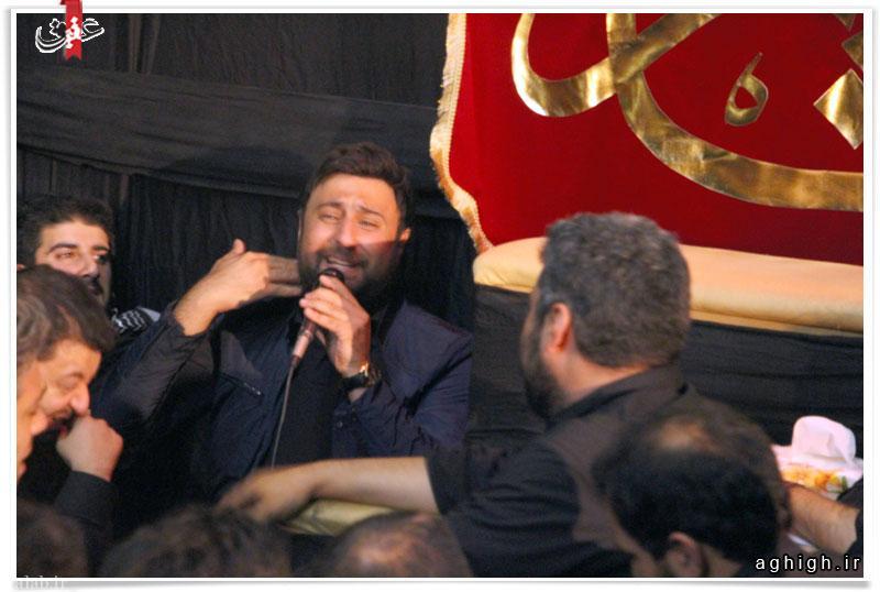 محمد علیزاده خواننده معروف مداح شد + تصاویر