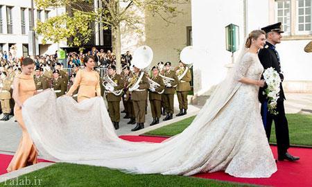 مدل لباس عروس 15 شاهزاده خانم دنیا + مشخصات